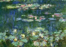 Claude Monet Green Reflections 3