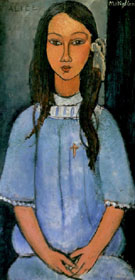 Amedeo Modigliani Alice 1918