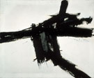 Buttress 1956 - Franz Kline reproduction oil painting