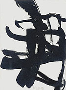 Untiltled 1950 P - Franz Kline reproduction oil painting