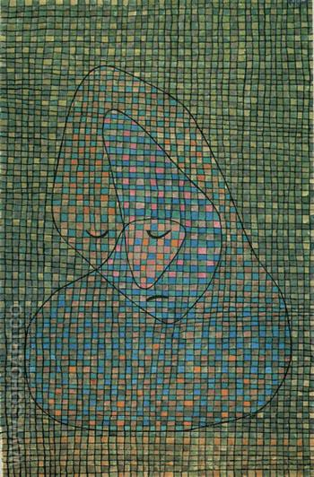Grieving 1934 - Paul Klee reproduction oil painting