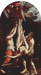 Guido Reni Crucifixion of St Peter 1605