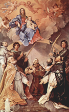 Guido Reni Madonna Enthroned with Saints