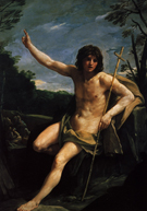 Guido Reni Saint John The Baptist 1637
