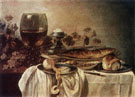 Pieter Claesz Breakfast Piece 1646