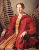 Agnolo Bronzino Portrait of a Lady 1550