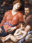 Agnolo Bronzino The Sacred Family Second Half of the Century
