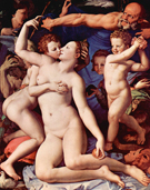 Agnolo Bronzino Venus Cupid and the Time