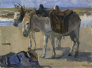 Isaac Israels Two Donkeys 1897