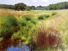Marshland - Dennis Miller Bunker reproduction oil painting