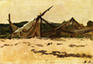 Nets and Sails Drying - Dennis Miller Bunker