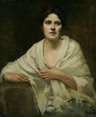 Dennis Miller Bunker Second Portrait of a Woman