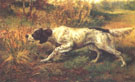Edmund Henry Osthaus English Setter Pointing