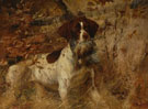 Edmund Henry Osthaus Pointer with Quail