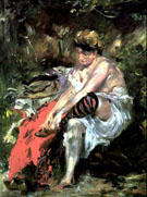 Lovis Corinth After The Bath