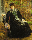 Lovis Corinth In a Black Coat 1908