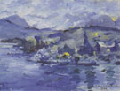 Lovis Corinth Lake Lucerne in the Afternoon 1924