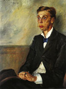 Lovis Corinth Portrait of Eduard Count Keyserling 1900