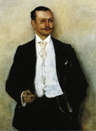 Lovis Corinth Portrait of the Painter Karl Strathmann 1895