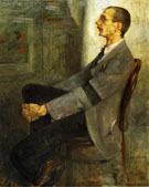 Lovis Corinth Portrait of The Painter Walter Leistilow 1893
