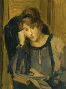 Isaac Israels A Woman Reading