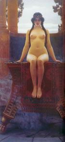 The Delphic Oracle 1899 - John William Godward