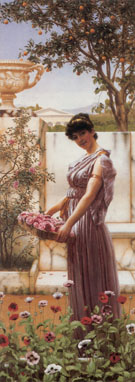 The Flowers of Venus 1890 - John William Godward