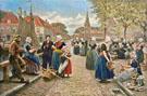 Vismarkt in Zeeland - Henri Houben