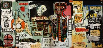 Notary 1983 - Jean-Michel-Basquiat reproduction oil painting
