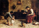Eugenio Zampighi The First Steps Country
