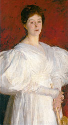 Mrs Fraderick Barnard 1885 - John Singer Sargent