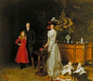 Sir George Sitwell Lady Lda Sitwell and Family 1900 - John Singer Sargent