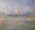 Vetheuil in the Fog 1879 - Claude Monet