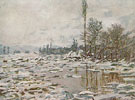 Break Up of the Ice 1880 - Claude Monet