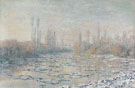 Ice Floes 1880 - Claude Monet