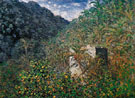 Valley of Sasso Bordighera 1884 - Claude Monet