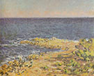 Claude Monet The Sea Near Antibes 1888