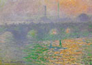 Waterloo Bridge London Winter 1899 - Claude Monet