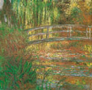 The Water Lily Pond Japanese Bridge 1900 - Claude Monet