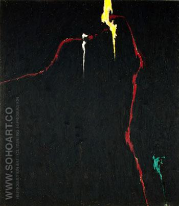 1944 N No 1 1944 - Clyfford Still reproduction oil painting