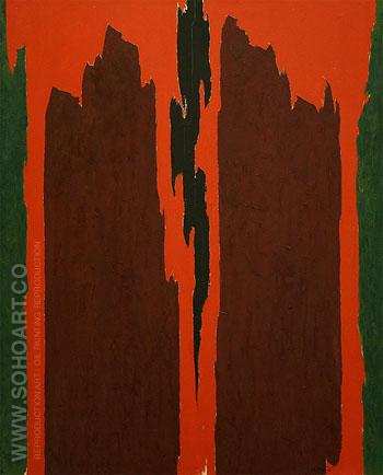 Untitled 1971 - Clyfford Still reproduction oil painting