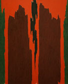 Clyfford Still Untitled 1971