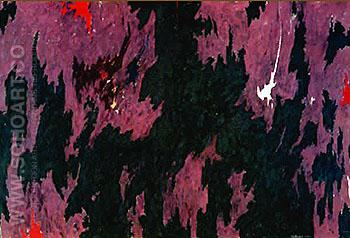 Untitled 1974 - Clyfford Still reproduction oil painting