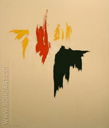 Untitled 1977 - Clyfford Still reproduction oil painting