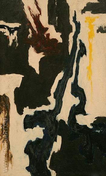 Untitled c1946 - Clyfford Still reproduction oil painting