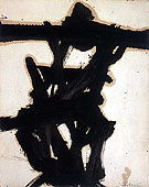 Black and White 1954 - Franz Kline