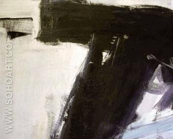 Heaume 1958 - Franz Kline reproduction oil painting