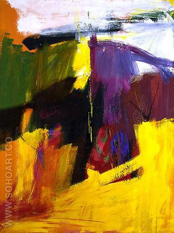 Henry H II c1959 - Franz Kline reproduction oil painting