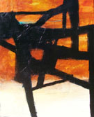 Franz Kline Homage II