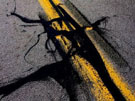 Meets Yellow Lines - Franz Kline